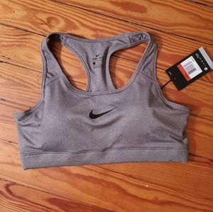 NWT Sexy Wold Gray Padded CLASSIC Compression Bra